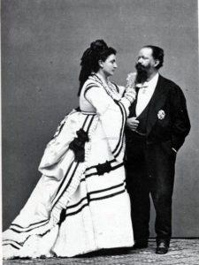 Vittorio Emanuele II e Rosa Vercellana.